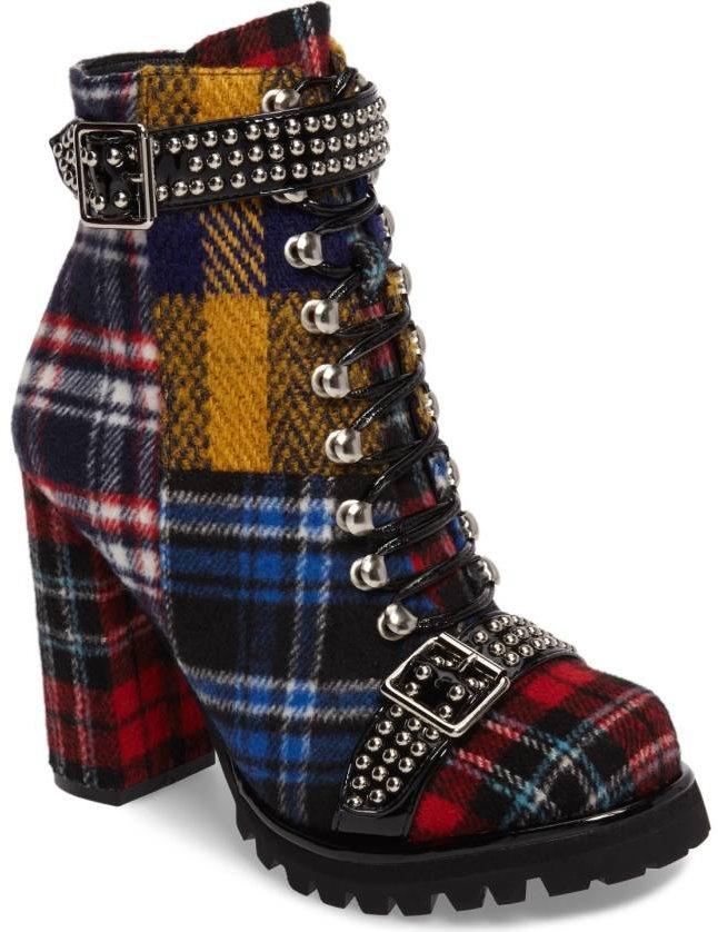 Jeffrey Campbell Lilith block heel boot